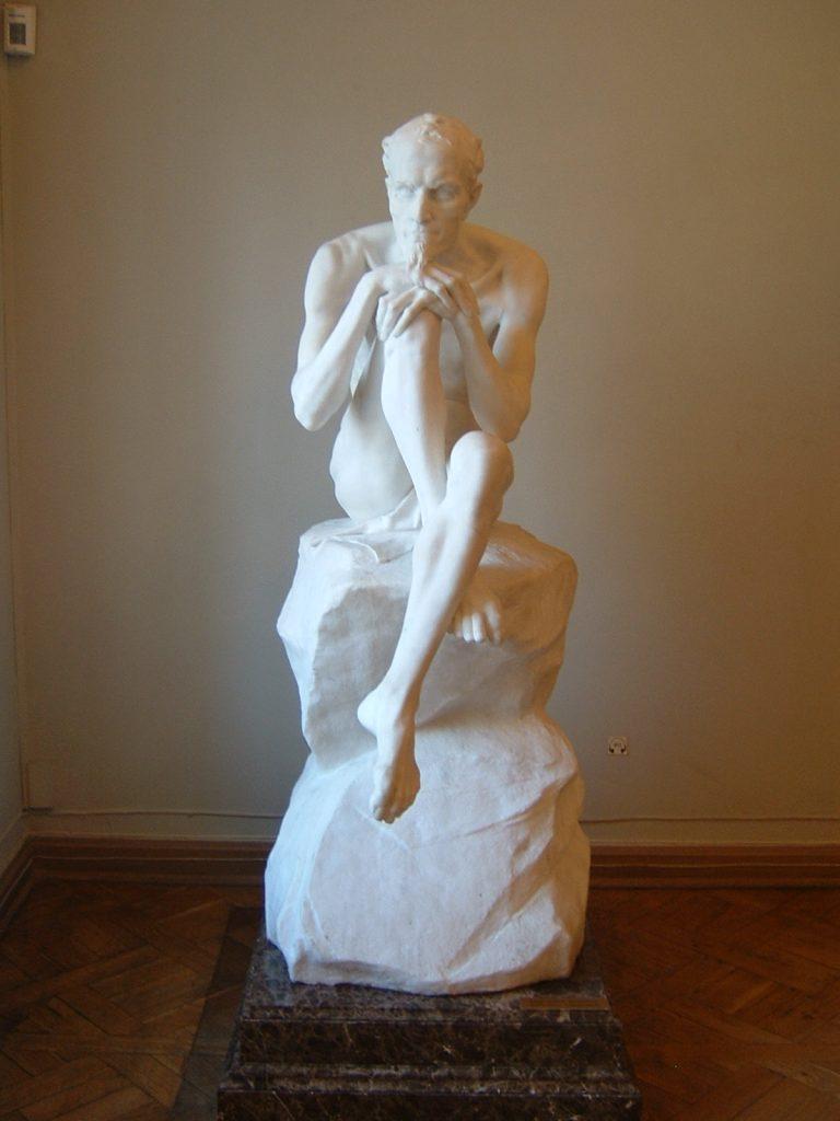 Marc Antokolski, Mephistophélès, 1883, marbre, Saint Pétersbourg, Ermitage