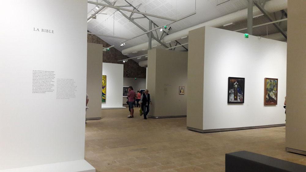 Exposition Chagall, de la poésie à la peinture, Landerneau, Fonds Hélène et Edouard Leclerc, 2016