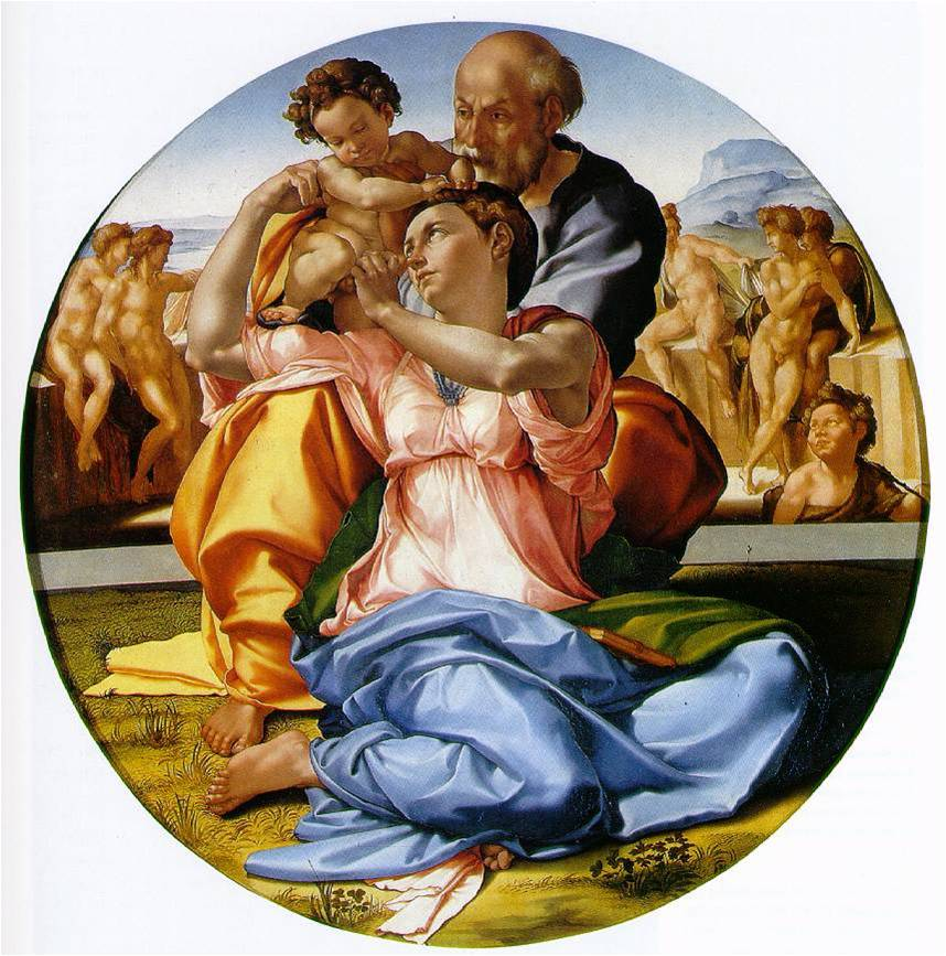 michel-ange-tondo-doni-1503-1504-huile-sur-bois-diam-120-cm-florence-offices
